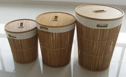 xzlb9913-bamboo-laundry-basket-with-white-cotton-fabric