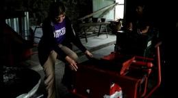 charcoal-making